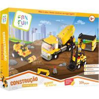 Blocos De Montar - Construção - Canteiro De Obras - Fanfun