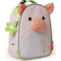 Lancheira Infantil Skip Hop - Linha Zoo - Coleção Porquinha - Feminino-Rosa