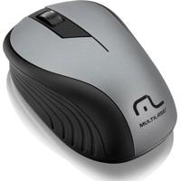 Mouse Multilaser Sem Fio 2.4Ghz Preto Usb - Mo213 - Unissex