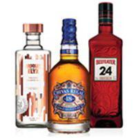 Kit Vodka Absolut Elyx 750Ml + Whisky Chivas Regal 18 Anos 750Ml + Gin Beefeater 24 750Ml