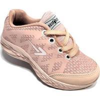 19e8e5df1a0 Netshoes  Tênis Infantil Box 200 Escolar Feminino - Feminino-Rosa