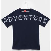 Camiseta Infantil Kyly Adventure Relevo Masculina - Masculino