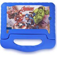 "Tablet Multilaser Disney Vingadores Plus 7"" 16Gb Nb307 Azul"