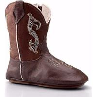 Bota Texana Country Baby Capelli Boots Infantil - Masculino-Café