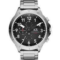 Relógio Armani Exchange Ax1750/1Pn 48Mm - Unissex-Prata