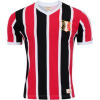 Camisa Do Santa Cruz 1983 Retrômania - Masculina - Preto/Vermelho