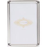 Porta Retrato Le Lis Blanc Casa Simple Prata - Pt Ret Simple P-Prata-Un