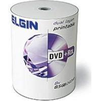 Dvd-R Elgin Midia 8,5Gb 240 Min 8X Dual Layer Print Bulk
