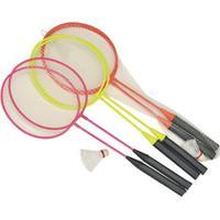 Kit Badminton Infantil 2 Raquetes 1 Peteca Amarelo Winmax Wmy02038