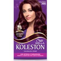 Tintura Wella Koleston Kit Creme 366 Acaju Púrpura
