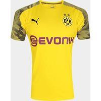 Camisa Borussia Dortmund 19/20 Treino Puma - Masculino