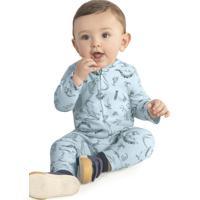 Macacão Infantil Masculino Azul