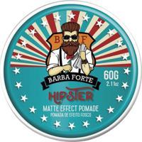 Pomada Efeito Fosco Matte Effect Hipster Barba Forte 60Gr - Masculino-Incolor