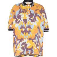 Cap Camisa Polo Diana Estampada - Camo Flower Soft