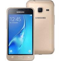 Smartphone Samsung Galaxy J1 Mini J105M Dourado - Dual-Chip - 8Gb - Android 5.1 Lollipop
