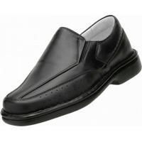 Sapato Social Carrijo Conforto - Masculino-Preto