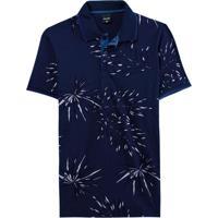 Camisa Azul Marinho Polo Tropical Slim