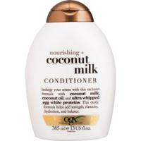 Ogx Coconut Milk - Condicionador Nutritivo 385Ml - Unissex-Incolor