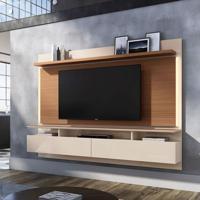 Painel Para Tv Até 60 Polegadas Limit Ii Marrom Deck E Off White