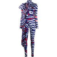 Atu Body Couture Body Animal Print - Cinza