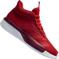 Tênis Cano Alto Adidas Pro Next 2019 - Masculino - Vermelho