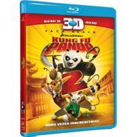 Kong Fu Panda 2 Blu Ray 3D Filme Infantil