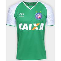 00f388c1b2 Netshoes  Camisa Bahia Goleiro 17 18 Nº 1 - Torcedor Umbro Masculina -  Masculino