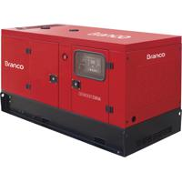 Gerador De Energia Branco Bd33000E3S A Diesel 35.75 Kva 127/220V