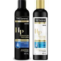 Kit Shampoo Tresemmé Hidratação Profunda 400Ml + Condicionador 400Ml - Unissex-Incolor