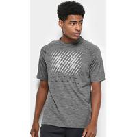 Camiseta Under Armour Tech Twist Graphic Masculina - Masculino-Cinza
