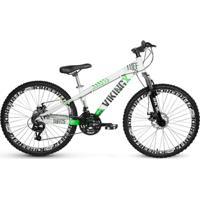 Bicicleta Vikingx Tuff 25 Freeride Aro 26 Freio À Disco 21 Marchas - Unissex