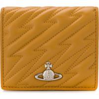 Vivienne Westwood Orb Logo Wallet - Amarelo