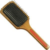 Escova De Cabelo Escovas Fidalga Raquete De Madeira Vermelha