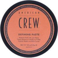 Pasta Modeladora American Crew Defining Paste 85G - Unissex-Incolor