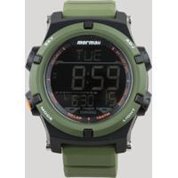 20235f4e0e1 CEA  Relógio Digital Mormaii Masculino - Mo1192Ad8V Verde - Único