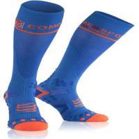 Meia De Compressão Compressport Cano Alto Full Socks V2.1. - Unissex