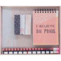 Kit Bloco De Anotações Le Style Com 8 Peças