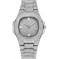 Relógio Ice Bling Full Diamond 300Klab - Prata