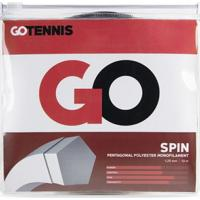 Corda Go Tennis Spin Poly 1.25Mm - Set Individual - Unissex