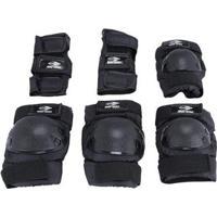 Kit Proteção Patins E Skate Preto Mormaii - M - Unissex-Preto