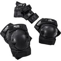 Kit De Proteção Esportivo Mormaii Skate E Patins Esportes Radicais Tamanho M - Unissex