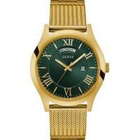 161aa99f18c Relógio Guess Masculino Aço Dourado - W0923G2