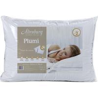 Travesseiro Plumi Gold- Branco- 70X50Cm- 180 Fioaltenburg