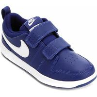 Tênis Infantil Nike Pico 5 Psv - Masculino-Azul Royal+Branco