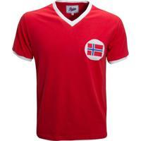 Camisa Liga Retrô Noruega 1960´S - Masculino
