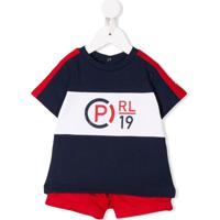 Ralph Lauren Kids Conjunto 2 Peças Com Estampa De Logo - Azul