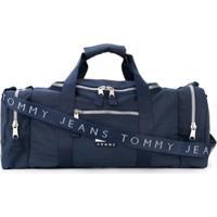 Tommy Hilfiger Mala De Mão Com Patch De Logo - Azul