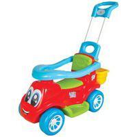 Carrinho De Passeio Maral 3022 Little Truck 3X1 30Kg Vermelho/Azul