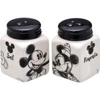 Jogo De Saleiro & Pimenteiro Mickey & Minnie®- Branco & Mabruk