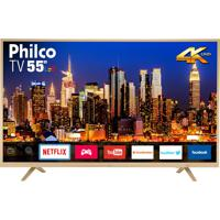 "Tv Ptv55U21Dswnc Led 4K 55"" Philco Bivolt"